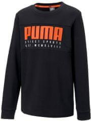 Puma pulover za dječake Alpha Crew TR B Puma Black