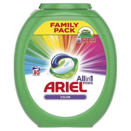 Ariel Color 3v1 gel kapsule 80, kosov