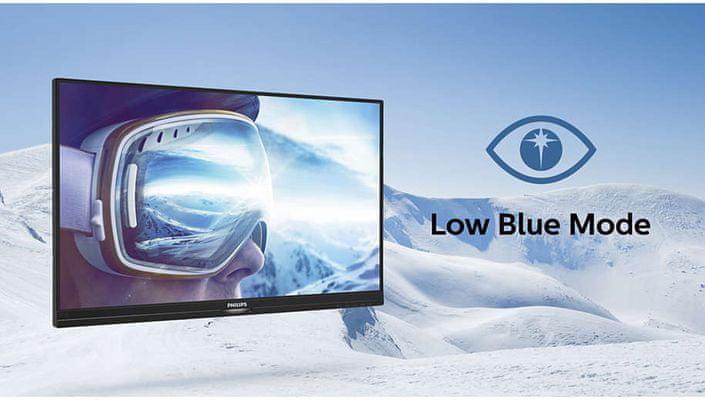 monitor Philips 345E2AE (345E2AE/00) Low Blue Light védi a szemet