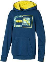 Puma pulover za dječake Alpha Hoody TR B Dark Denim