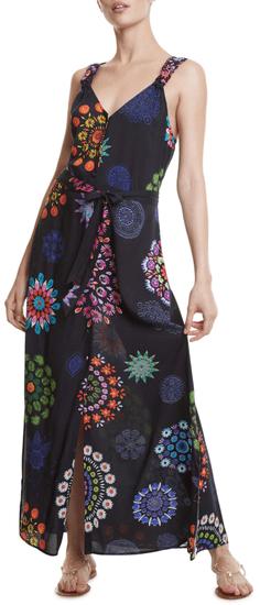 Desigual dámske šaty Fiji 20SWMW34 S čierne