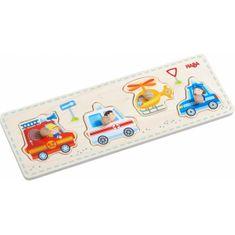 HABA Vkladacie puzzle Záchranné vozidlá