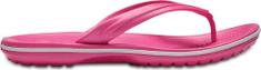 Crocs Dámske žabky Crocs Crocband FLIP ružová / biela