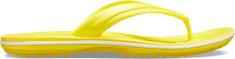 Crocs Unisex žabky Crocs CROCBAND FLIP citrónově žlutá/ bílá
