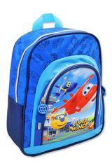 SETINO Gyerek fiú hátizsák SUPER WINGS elülső zsebbel - kék