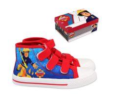 """SETINO Fiú cipők """"Tűzoltó Sam"""" - piros"""