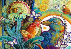 Blue Bird Puzzle 1000 dílků Basket of Paradise