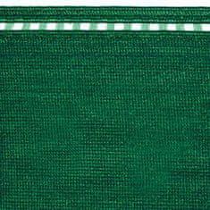 TENAX SPA Cieniująca siatka COIMBRA 100% 1m wysokości, zielona