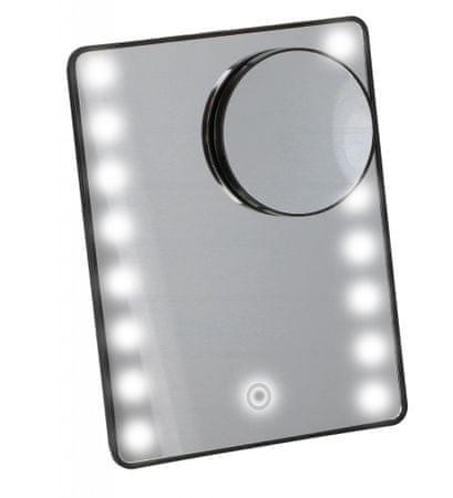 TimeLife Kozmetikai tükör 16 LED-es összecsukható