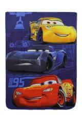 SETINO Flísová deka pre chlapcov Cars / McQueen - 100 x 140 cm