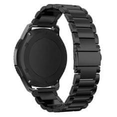 BStrap Samsung Gear S3 Stainless Steel řemínek, Black