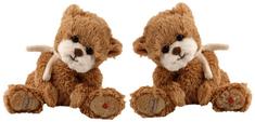 Bukowski Bukowski LOVELY LILLA I medvídek - holčička mašle malý (15 cm)