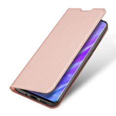 Dux Ducis Skin Pro knižkové kožené púzdro na Samsung Galaxy S20, ružové