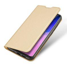 Dux Ducis Skin Pro knížkové kožené pouzdro na Samsung Galaxy S20 Ultra, zlaté