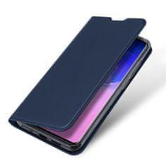 Dux Ducis Skin Pro knížkové kožené pouzdro na Samsung Galaxy S20 Ultra, modré