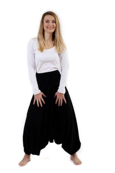 Jožánek Těhotenské turecké kalhoty, černé S/M
