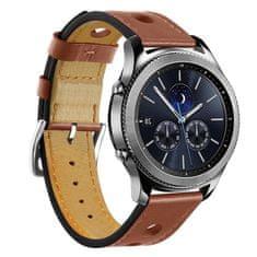 BStrap Samsung Gear S3 Leather Italy řemínek, Brown
