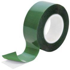Petec Montážní lepicí páska oboustranná, průhledná, 2 metry - Petec
