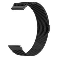 BStrap Samsung Gear S3 Milanese řemínek, Black