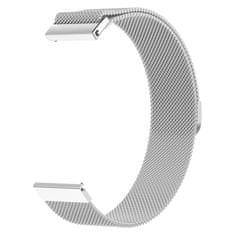 BStrap Samsung Gear S3 Milanese szíj, Silver