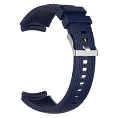 BStrap Samsung Gear S3 Silicone Davis řemínek, Dark Blue