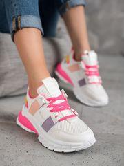 Klasické tenisky dámské vícebarevné bez podpatku