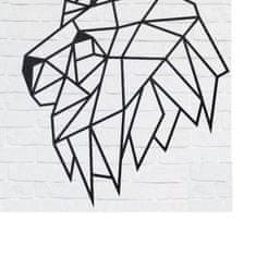 EWA ECO-WOOD-ART Nástěnné puzzle Lví hlava