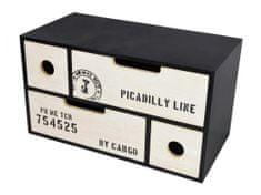 TimeLife ukrasni ormar za odlaganje malih predmeta, 30x15x17 cm