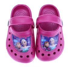 SETINO Dievčenské sandále Frozen - fialová