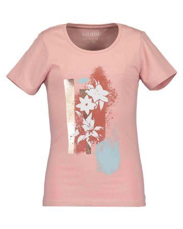 Blue Seven koszulka dziewczęca 152 różowa
