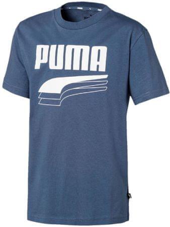 Puma fantovska majica Rebel Bold Tee B Dark Denim, 110, temno modra