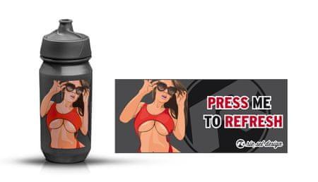Riesel Designs Girl bidon, 500 ml