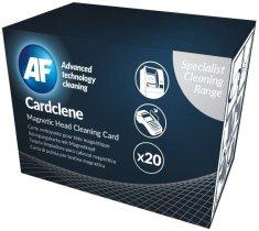 AF Cardclene - Čistící karty napuštěné rozpouštědlem ACCP020 (20 ks)