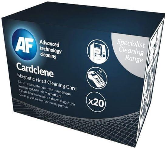 AF Cardclene - Čistiace karty napustené rozpúšťadlom ACCP020 (20 ks)