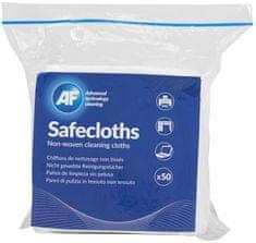 AF Safecloth - Ubrousky z netkané textilie nepouštějící vlákna (50 ks) ASCH050