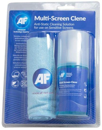 AF Multi-Screen Clene - Antistatický čistič obrazoviek (CRT, LED, LCD) 200 ml vrátane utierky AMCA_200MIF