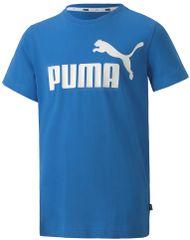 Puma chlapecké tričko ESS Logo Tee B Palace Blue