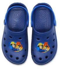 SETINO Chlapčenské sandále Hasič Sam - tmavo modrá