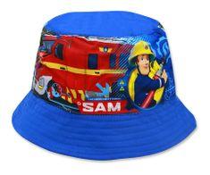 SETINO Chlapčenský klobúk Hasič Sam - svetlo modrá