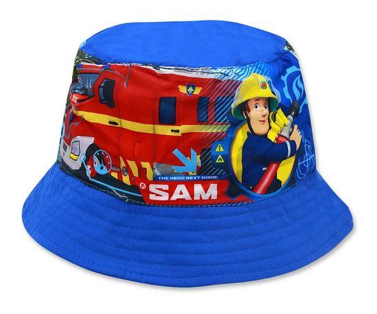 """SETINO Chlapecký klobouk """"Požárník Sam"""" - světle modrá - 54 cm"""