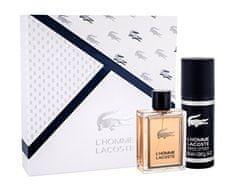 Lacoste L´Homme parfemska voda, 100 ml + dezodorans u spreju, 150 ml