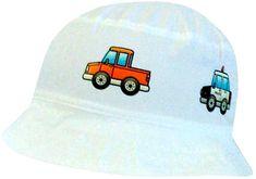 Yetty fiú nyári vászon kalap autókkal