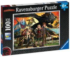Ravensburger Ako vycvičiť draka: Priatelia XXL 100 dielikov