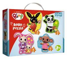 Trefl Puzzle baby Bing Bunny a priatelia