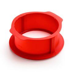 Lékué Silikonová pečicí nádoba na dort 15 cm Lekue | červená