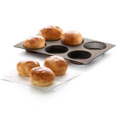 Lékué Silikonová pečicí forma na housky Lékué Roll Bread | hnědá