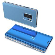 MG Clear View knižkové púzdro pre Huawei P30 Lite, modré