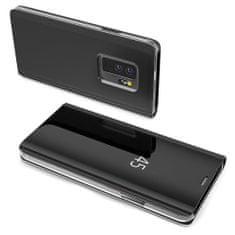 MG Clear View könyv tok Samsung Galaxy S10 Plus, fekete