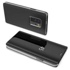 MG Clear View knižkové púzdro pre Huawei P20 Lite, čierne