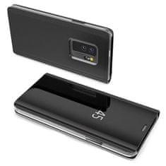 MG Clear View knižkové púzdro pre Huawei P30 Lite, čierne